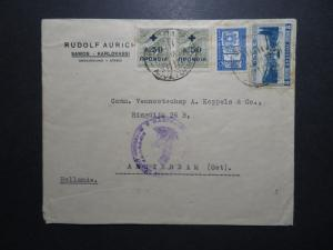 Greece 1938 Cover to Amsterdam - Z11989