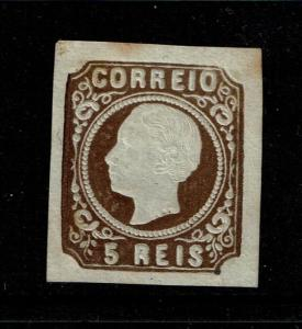Portugal SC# 12, type II, Mint Hinged, small Hinge Remnant, see notes - S4807
