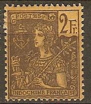 Indo-China Indochine 38 Mint F/VF 1904 SCV $52.50