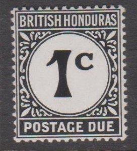 British Honduras Sc#J1 MNH