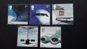Great Britain 2002 The 50th Anniversary of Jet travel Used