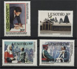 LESOTHO, RESTITUTION OF DEMOCRACY 1993, MNH SET