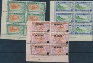 Tokelau Islands stamp 1948-1956 3 Definitive values 1948 MNH Mi 2-3, 5 WS185247