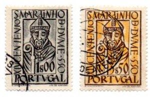 PORTUGAL 776-7 USED SCV $5.75 BIN $1.90 RELIGION