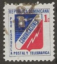 DOMINICAN REPUBLIC SC #  RA49b     USED