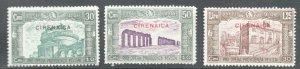 Cyrenaica - Sc# B25 - B27 MH  /  Lot 0619_0218172