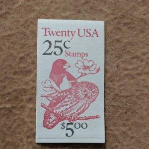 U.S. Booket Bk160, Pl #2222, CV $17.50