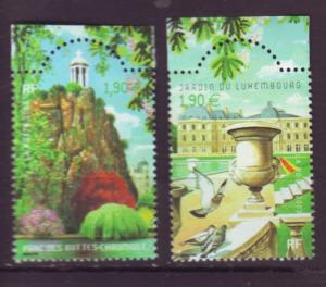 J20463 Jlstamps 2003 france set mnh #2979a-b parks