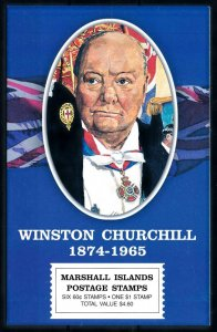 [101609] Marshall Islands 2000 Winston Churchill Booklet MNH