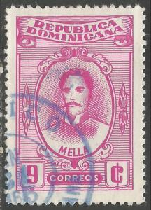 DOMINICAN REPUBLIC 582 VFU MELLA Z2806-4