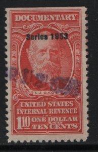US, R634, USED, 1953 SERIES