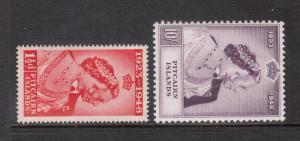 Pitcairn Islands #11 - #12 VF Mint