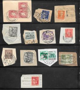 Page 79 WORLD WIDE 2 PAGES POSTMARKS & CANCELS ONE PARIS 1937 EXPOSITION INTERN.