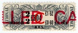 (I.B) Elizabeth II Revenue : National Insurance £3.04 (2 weeks)