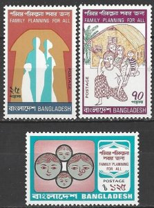 Bangladesh 86-8  MNH  Family Planning