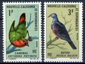 New Caledonia #C48-C49A Birds MNH