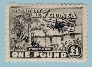 NEW GUINEA C13 MINT HINGED OG * NO FAULTS EXTRA FINE !