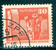 Germany DDR; 1981: Sc. # 2076: O/Used CTO Single Stamp
