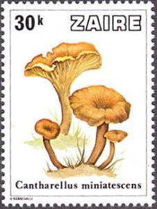 Zaire # 914 mnh ~ 30k Mushrooms