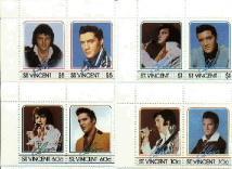 Elvis Presley, King of Rock & Roll, Set of 8, STVI0870-77