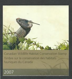 Canada MNH Wildlife Conservation  Booklet  FWH23