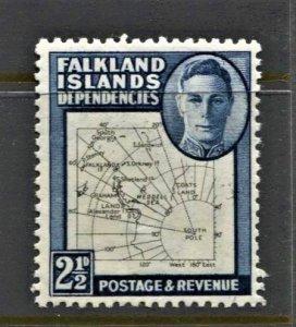 STAMP STATION PERTH -Falkland Is.Dep.#1L13 MNH OG VF Thin Maps Set CV$130)CV$12.