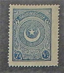 Turkey 614. 1923-25 7 1/2pi Blue
