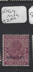 INDIA  NABHA   (P2508B)   KGV   2A   SG 64       MOG