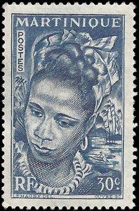 Martinique 1947 #218 Mint H Minor Thin