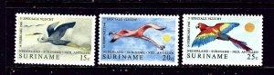 Surinam 382-84 MNH 1971 Birds