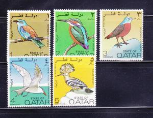 Qatar 279-283 MNH Birds
