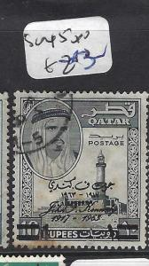 QATAR (P1501B) 10R  KENNEDTY  SG 45  VFU