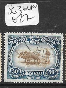 MALAYA KEDAH (P0805B) COW  50C  SG 36  VFU