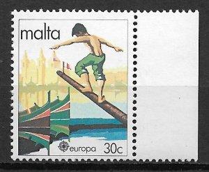 1981 Malta Sc585 Europa 30¢ MNH