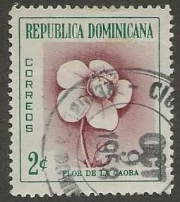 DOMINICAN REPUBLIC SC # 489   USED