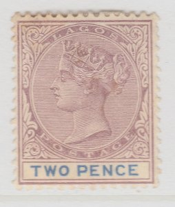 British Colony Nigeria Lagos 1887 2d Wmk Crown CA MNG Stamp A22P19F8981