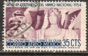 MEXICO C225, 35c Centennial of National Anthem. Used. (1064)