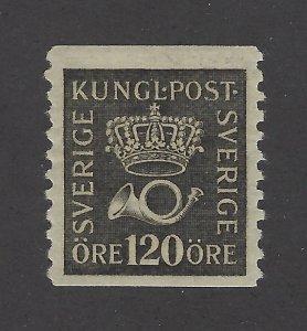 Sweden Scott 156 120 Ore Definitive Unused