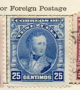 Venezuela 1904-09 Early Issue Fine Mint Hinged 25c. NW-114541