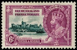 BECHUANALAND SG114, 6d slate & purple, M MINT.