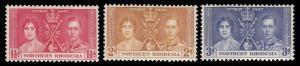 Northern Rhodesia 22 - 24 MNH