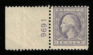 USA 1908 - 1911 George Washington 3с MNH OG (TS-171)