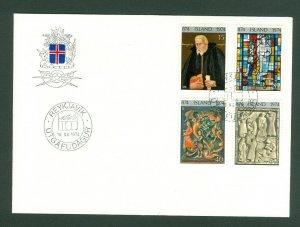 Iceland. FDC. 1974. Iceland Settlement 1100 Year. Scott # 463-65-68-469.
