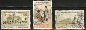 Trinidad & Tobago Scott 188-190 Used CTO San Fernando set
