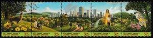 United Nations New York 678-682 682a City Summit Habitat II 32c set MNH 1996