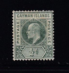 Cayman Islands, Sc 8 (SG 8), MLH