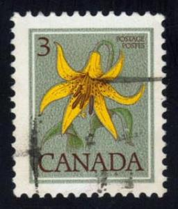 Canada #708 Canada Lily; used (0.25)
