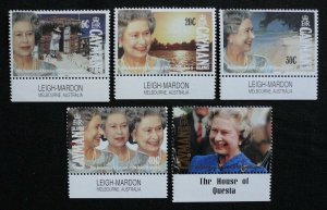 Cayman Islands 1992 40th Anniv Accession of Queen set MNH