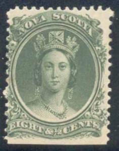 Nova Scotia ~ #11 ~ 8.5c Queen Victoria ~ MNH