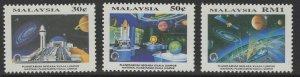 MALAYSIA SG524/6 1994 NATIONAL PLANETARIUM MNH